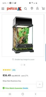 ISO gecko cage