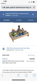 Paw Patrol adventure bay play table!!!