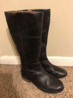 Fossil distressed riding boots size 6.5 $15