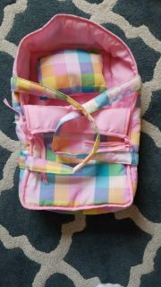 Baby doll bed/carrier