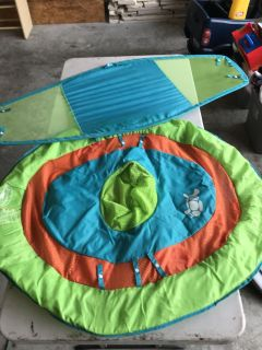 Swim Ways baby float with canopy. Excellent condition