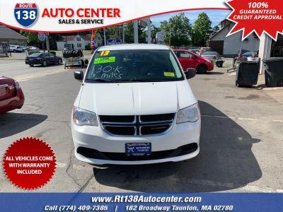 2013 Dodge Grand Caravan SE (Bright White)
