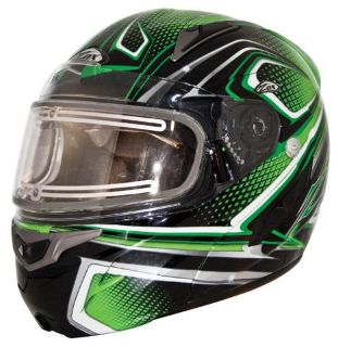 Find ZOX GENESSIS SN2 SVS - ELECTRIC SHIELD,PLEDGE GRAPHIC GREEN-XL 86-E56505 motorcycle in Ellington, Connecticut, US, for US $309.95