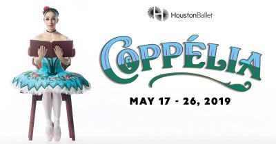 """(2/4) """"COPPELIA"""" Ballet 6th Row/Lowers/Center Seats - Sat, May 25 - Call Now!"""
