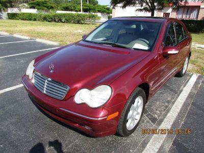 2001 Mercedes-Benz C-Class C320 (RED)