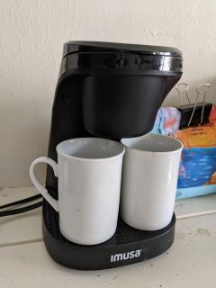 Cute coffee maker for couple or small office