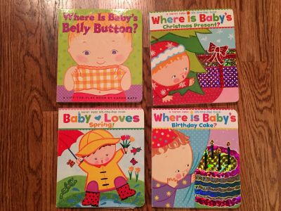 Where is Baby lift the flap book lot