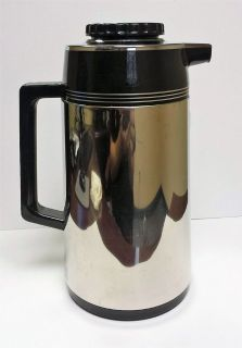 Vintage Stainless Steel Coffee Carafe 1L Decanter Made in Japan