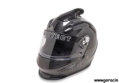 Buy SA2015 Pyrotect Pro Ultra Carbon Fiber Duckbill Helmet-Triflow,Hans Ready motorcycle in Redmond, Oregon, United States, for US $1,079.00