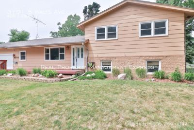 Amazing 4 bedroom with a fenced yard in the perfect location!