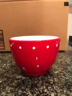 Holiday dip cup