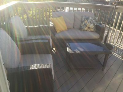 All weather resin patio furniture