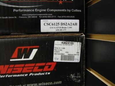 Purchase Wiseco/Callies 441 or 447 Pistons, Rings and Rod Kit LS LS1 LS2 LS3 LQ4 LS7 LQ9 motorcycle in Hamden, Connecticut, United States, for US $1,469.00