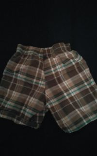 Carter 24month old boys blue Grey and white shorts