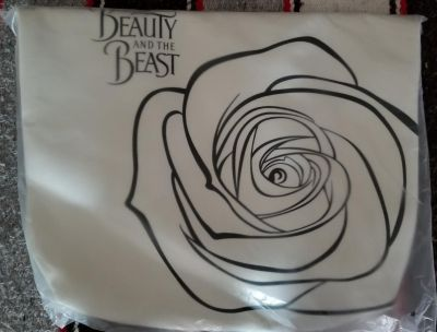 New sealed Disneys Beauty and the Beast LG tote bag
