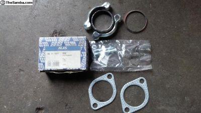 Exhaust clamp kit n the OG BOX