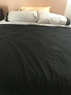 Free King Bed with box spring