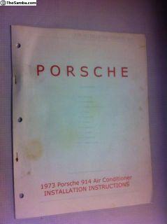 Porsche 914 Air Conditioner Installation Guide