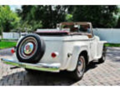 1950 Willys Jeepster Amazing 1950 Willys Jeepster 134cid Engine with Recent