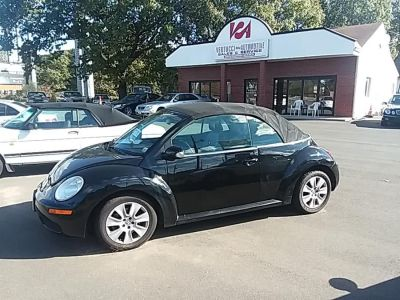 2008 Volkswagen New Beetle S PZEV (Black)