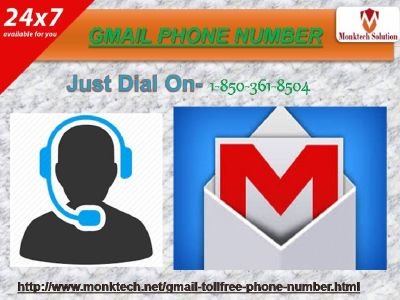 Gmail l Phone number 1-850-361-8504 a solid assistance