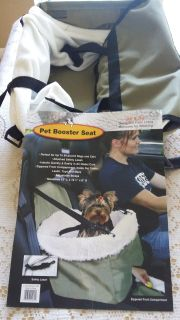 Brand new Pet booster seat. Perfect for up to 20 pounds dogs/cats.