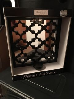 Brand new mirrored wall sconce