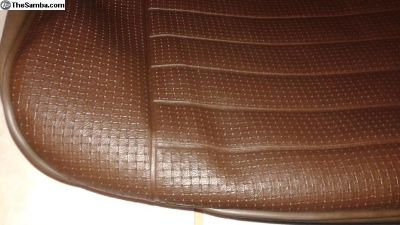PAIR New Bucket Seat Covers Brown