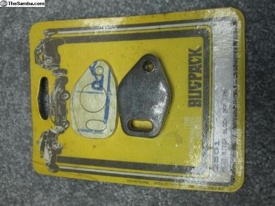 old Bugpack packaged heat riser block off plates
