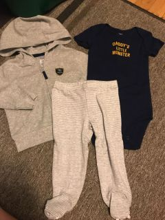 Carter s 6m daddy s little monster outfit