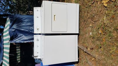 Washer dryer electric kenmore set