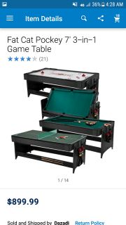 Fisher price 3 in 1 game table