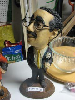 Groucho Esco Vintage Chalkware Figurine RARE 1971