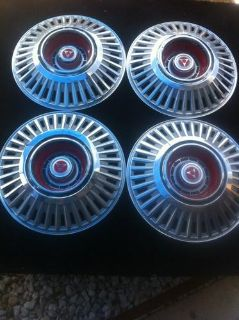 Find set of 4 15 1969 Dodge Charger 500 Wheel Covers motorcycle in Garland, Texas, US, for US $129.00