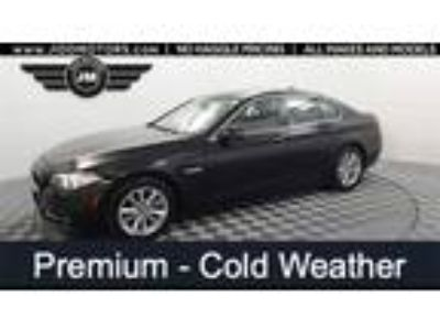 Used 2016 BMW 5 Series Black, 50.7K miles