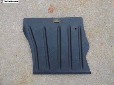 Volkswagen Beetle Foot Rest Tin Plate