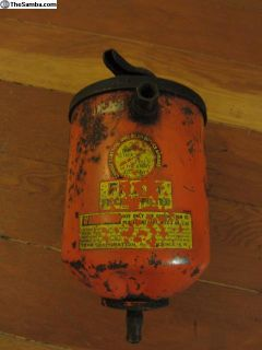Vintage Fram external oil filter