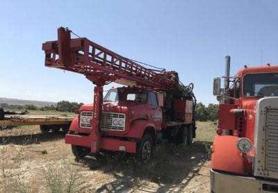 1978 Schramm T64-Hb-Water-We ll-Drilling-Rig