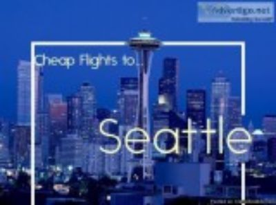 Cheap Flight Tickets to Seattle (SEA)