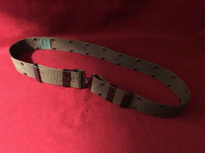 US Equipment Belt. Waist Over Size Large (30 in). EUC