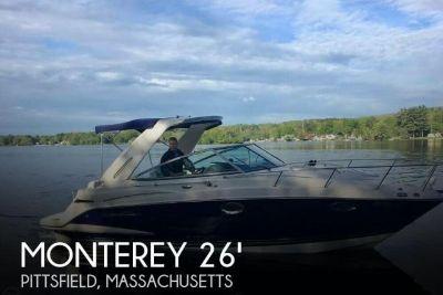 2011 Monterey 260 Sport Cruiser