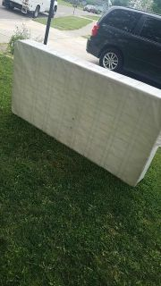 Twin box spring giving away twin bed for free