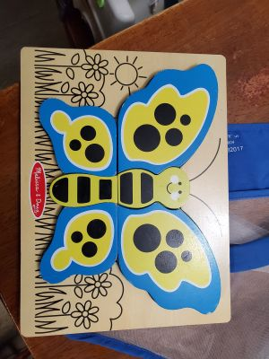 Melissa & Doug chunky butterfly puzzle