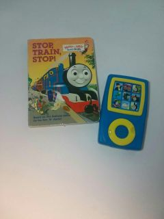 Thomas the train board book and toy