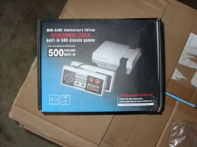 nintendo classic game system-500 games