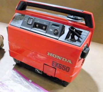 Honda EX650 Generator, 650 Watts