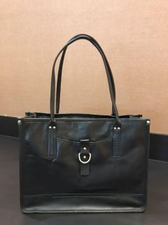 Leather tote by DIBA True