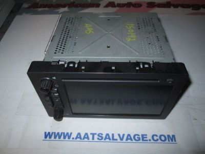 Find 05 06 Escalade Yukon Tahoe Avalanche navigation screen radio CD PLAYER 15230099 motorcycle in Leesburg, Florida, United States, for US $189.37