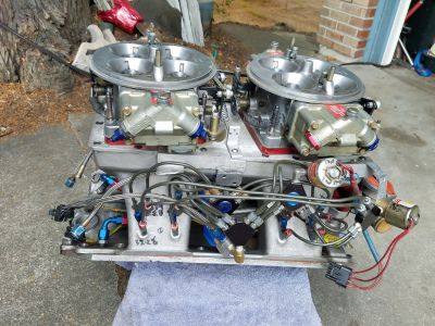 Tunnelram carbs and 2 foggers