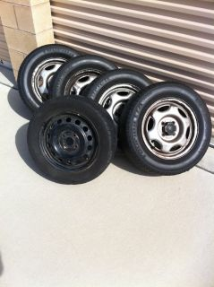 "Toyota 14"" Wheels and Tires"